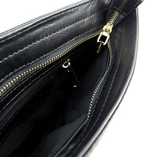 Bolsa Cm 5x2 Cuero 'jacques 25x22 De Esterel'negro xqrx8YvX