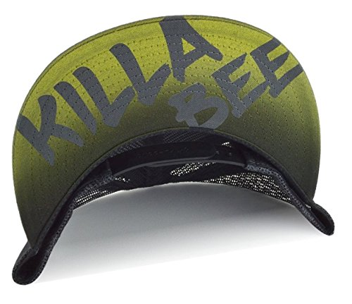 [The Moonwalk Shop Airbrushed Dance Hat Beast Yellow + Name] (Airbrushed Trucker Hat)
