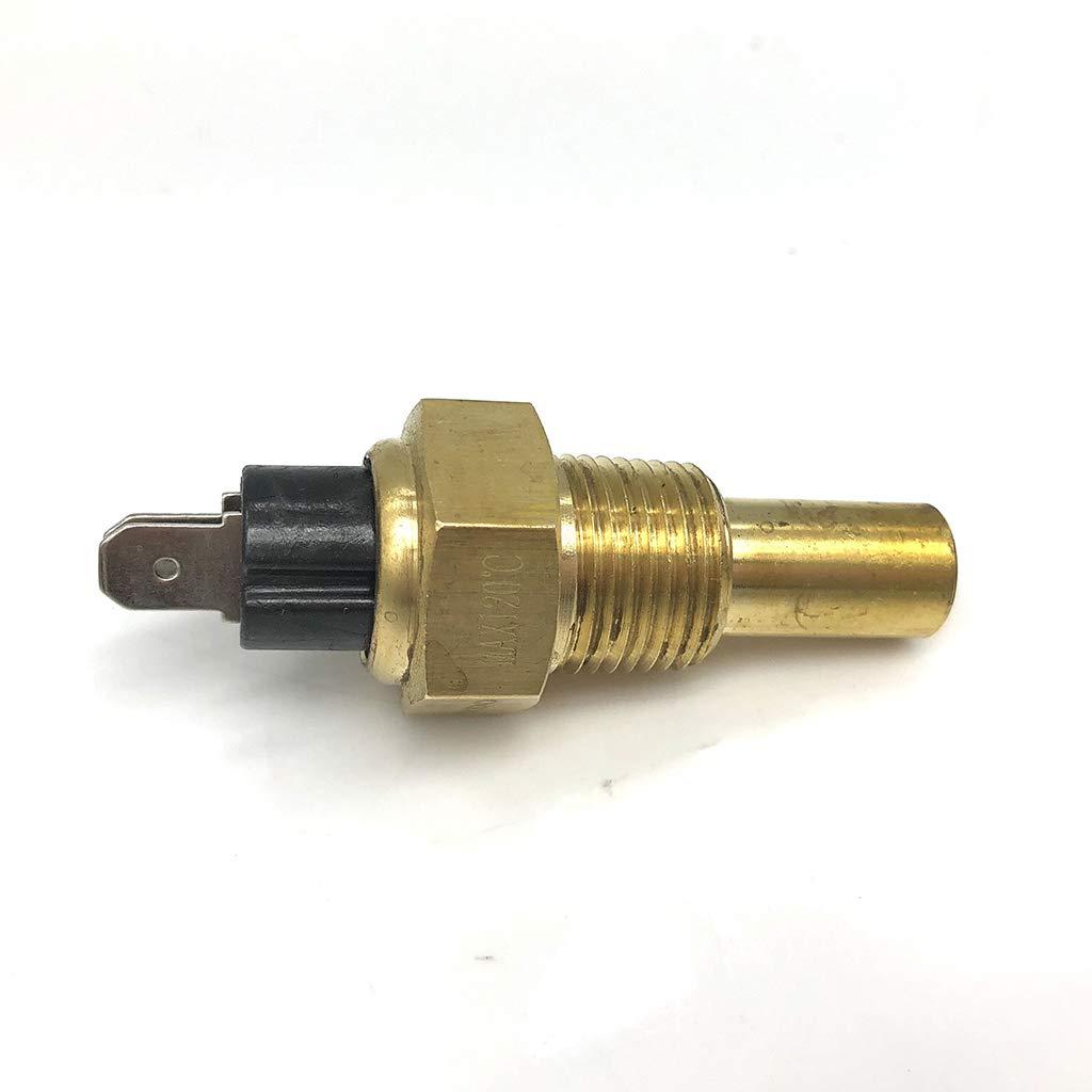 D DOLITY Sensor de Temperatura de Agua con Alarma Pieza Repuesto para Marino Barco Recambio