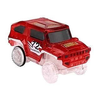 Winkey Electronics Car Toys, Flashing Music Car toy for Magic Track Educational toys Best Gift, Toys for 1 2 3 4 5 6…