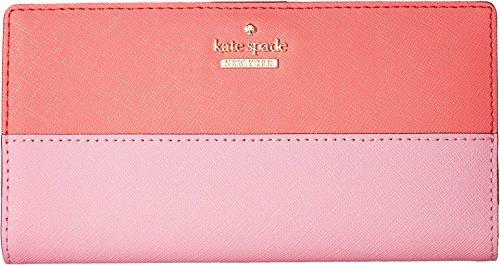 Kate Spade New York Women's Cameron Street Stacy Wallet, Bright Flamingo Multi, One - Flamingo Kate Spade