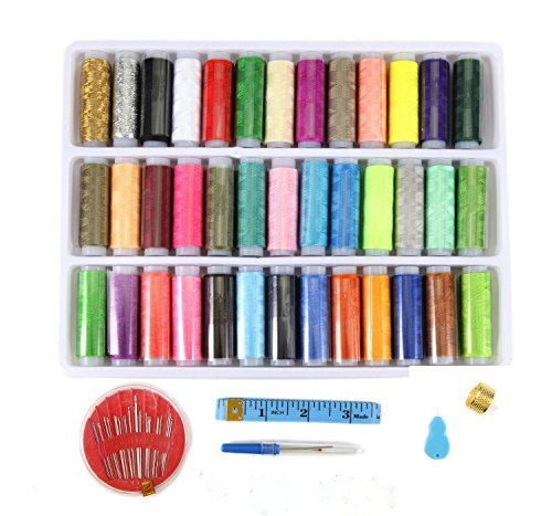 39 Color Sewing Thread with tool kit