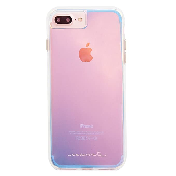 pretty nice 10b48 e982b Case-Mate iPhone 8 Plus Case - NAKED TOUGH - Iridescent - Slim Protective  Design for Apple iPhone 8 Plus - Iridescent - CM036162X