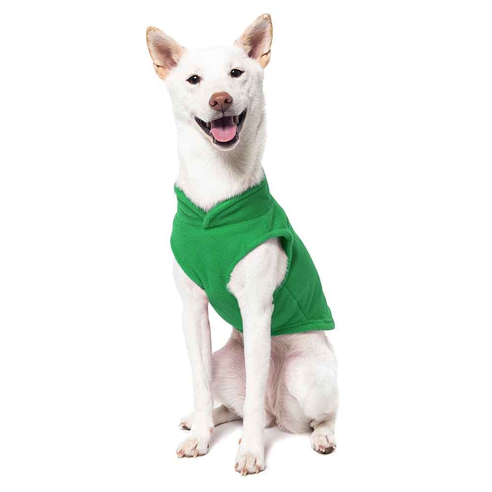 Amazon.com : Gooby Every Day Fleece Cold Weather Dog Vest for Small ...