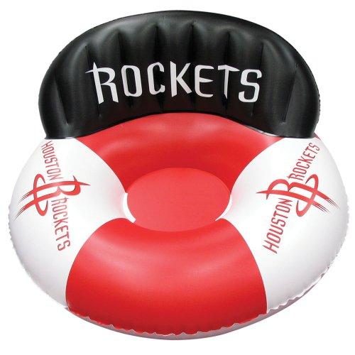 Poolmaster Houston Rockets NBA Swimming Pool Float, Luxury Drifter
