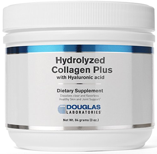 Douglas Laboratories® - Hydrolyzed Collagen Plus - with Hyaluronic Acid for Healthy Skin and Joint Support - 84 Grams (3 - Acid Hyaluronic Food Science