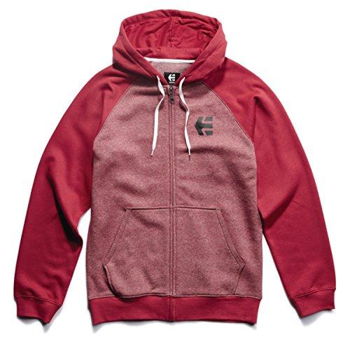 Sweatshirt Mens Etnies (Etnies E-Corp Zip Hoodie Mens Sz L)