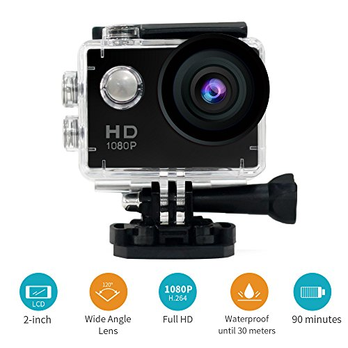 Waterproof DV Mini Sports 120%C2%B0Wide angle Accessories product image