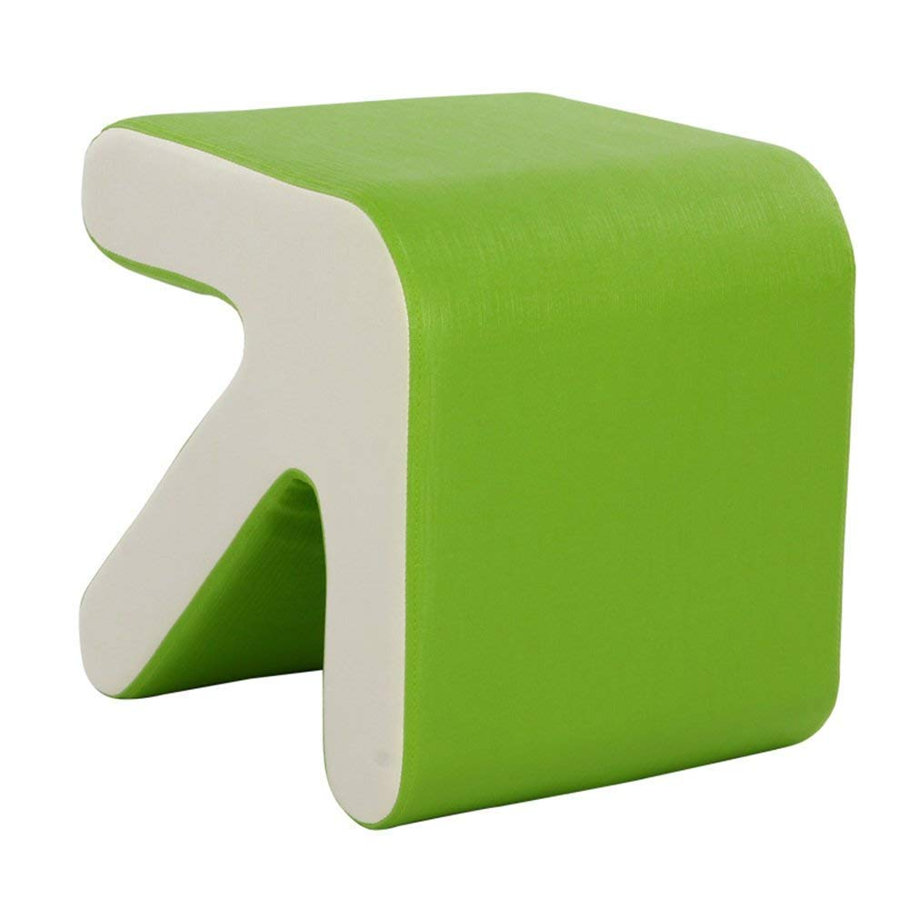Green BRNEBN Chair-European Modern Minimalist Casual Backrest Dining Chair Plastic Chair Home Reception Fashion Stool Home Convenient (color   Black)