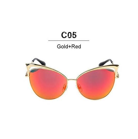 f13f3dd8c203e Mode nouvelle Cat Eye Luxury 2018 Lunettes de soleil Femme Twin-Beam marque  Designer Hommes