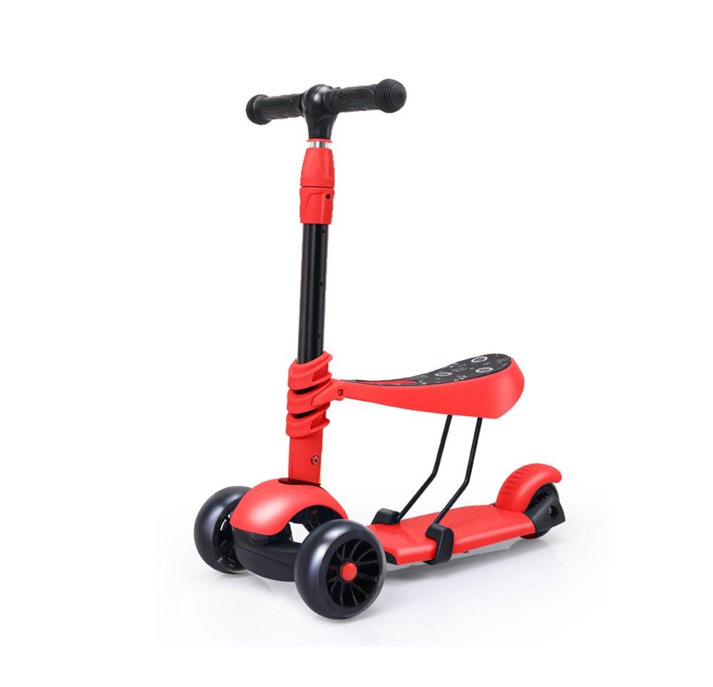 スクーター/おもちゃ/赤ちゃん三輪車スクーター/折りたたみ式 :/座った/縦型 (/耐摩耗性の大きなビッグホイール ( Color B07FLV5SPD : B ) B07FLV5SPD, 作業服安全靴のサンワークEXP:e7943372 --- rchagen.ru
