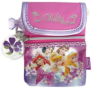 Disney Princess Zipper Coin Purses Neck Pouch Bags Wallet Bill Namecard  Kids Women Girls Ladies School c243a9ced