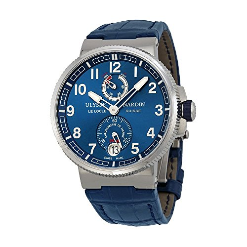 ulysse-nardin-marine-chronometer-blue-alligator-leather-mens-watch-1183-126-63