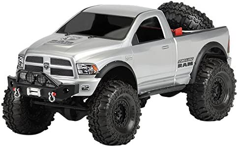 Amazon Com Proline 343400 Ram 1500 Clear Body For 1 10 Scale Crawlers Toys Games