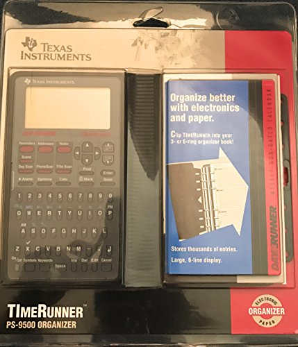 Texas Instruments TImeRunner PS-9500 Electronic Organizer by Texas Instruments
