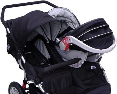 Tike Tech Double Stroller Car Seat Adapter by Tike Tech
