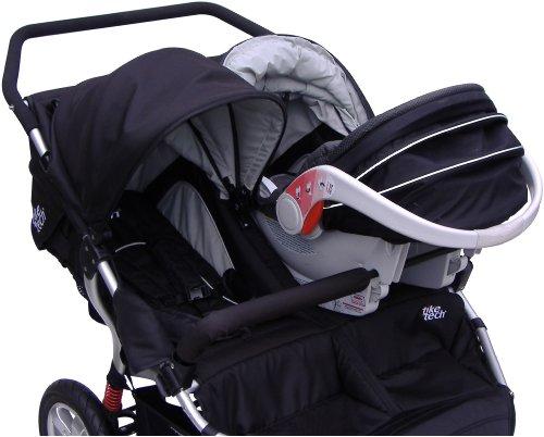 Tike Tech Double Stroller Car Seat Adapter, Baby & Kids Zone