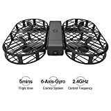 Cheap DWI D7 Protable Foldable Arms WIFI FPV Mini Drone with 480P Camera Live Video RTF Helicopter for Kids Adults-Altitude Hold,One-Key Hover,Headless Mode,support HD shooting,VR Split-screen Mode