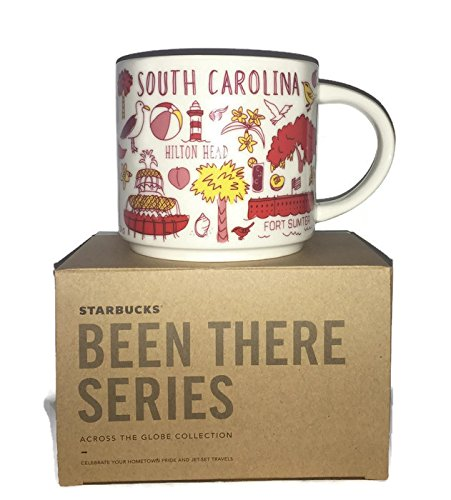 Starbucks South Carolina Mug Been There (South Carolina Coffee Mug)