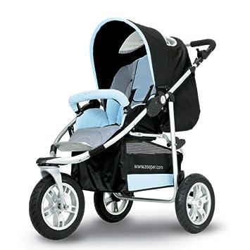 Amazon.com: zooper Boogie carriola Azul (suspendido por ...