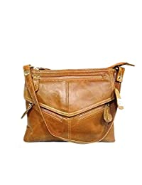 NIGEDU Women Messenger Bags Soft Genuine Leather Crossbody Shoulder Bag Small Real Leather Handbags
