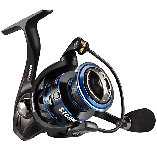 Piscifun Storm 6.2:1 Spinning Reel - High Speed Spin Reel - New 2018 Saltwater Freshwater Fishing Reels - 10+1 Shielded Ball Bearings - Super Affordable! (2000 Series)