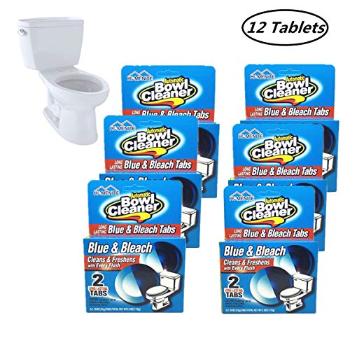 (HomeNite 12 Count Automatic Toilet Bowl Tablets Cleaner (6 Pack))