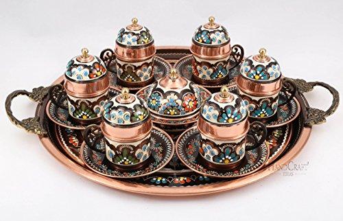 turkish coffee set of 6 - 2