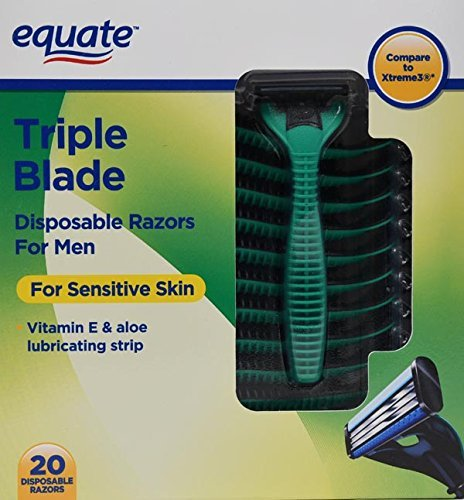 disposable razors triple blade - 5