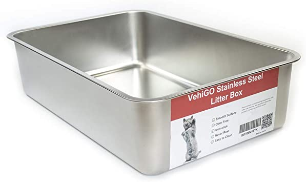 Amazon.com: VehiGo - Arenero de arena extra grande de metal ...