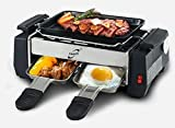Compact All in one Electric Barbeque Grill With frying pan and omlet maker By ASkyl