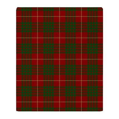 - CafePress Cameron Modern Tartan Soft Fleece Throw Blanket, 50