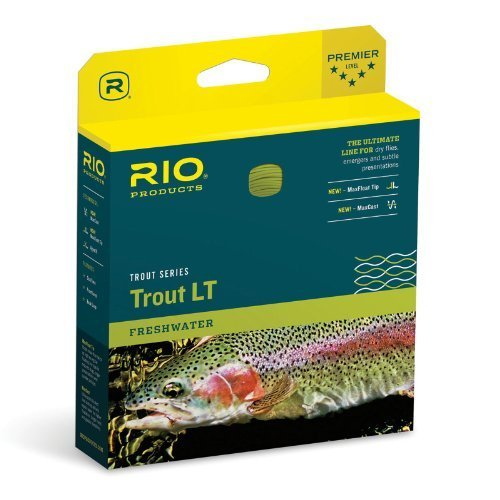Rio Trout LT Double Taper Floating Fly Line DT5 F by Rio Brands