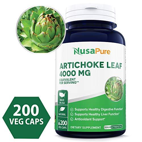 Artichoke Extract 1000mg Non GMO Scolymus product image