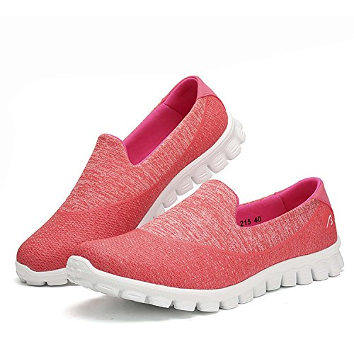 Women Outdoor Sports Air Pad Sneakers Running Shoes Non-slip Leisure Sneakers Streets Hiking Shoes Pink JlDZGRdsQ