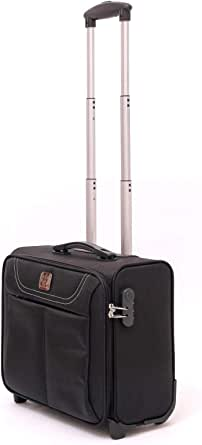 RICH AND FAMOUS multi use Luggage 2 Wheel rolling Trolley, business trolley, Mobile Laptop Briefcase,One Size 16inch RF-L03