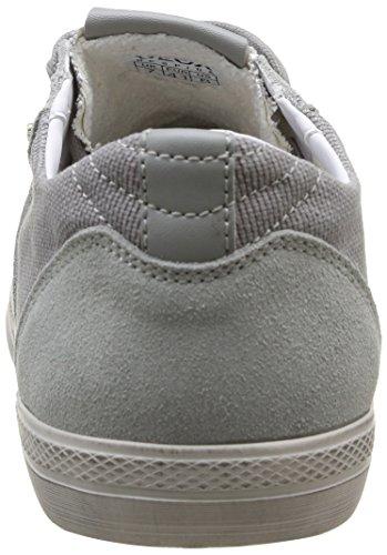 Geox U Smart D - Zapatillas de Deporte de canvas hombre gris - Gris (Grey/Ice)