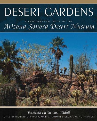(Desert Gardens A Photographic Tour of the Arizona Sonora Desert Museum )