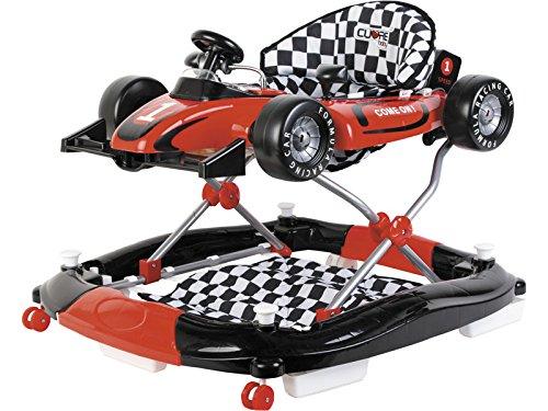 CUORE BABY Girello Rosso 3 in 1 Formula 1 attivit/à