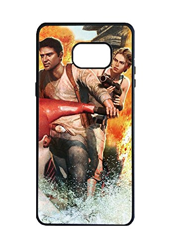Perfect Ultra Thin Game Uncharted: Drake's Fortune Soft TPU Case Cover for Samsung Galaxy Note 7 Design by [Julio Britt]