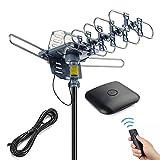 pingbingding Outdoor Antenna Digital HDTV Antenna Amplified TV Antenna 150 Miles