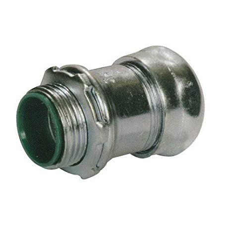 Steel Insulated Throat Morris Products 14890 EMT Set Screw Connector Pack of 50 1//2 Trade Size