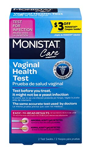 Monistat Care Vaginal Health Test | pH Test | Test Before You Treat | 2 Swabs