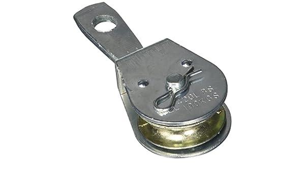 3//4-Inch Die-Cast Zinc Koch Industries 3171501 Rigid Eye Pulley Single Sheave
