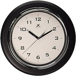 Infinity Instruments 14759BK-3780 Deluxe Wall Clock