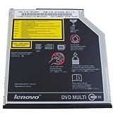 Slim 8X DVD+/-RW CD-ROM Dual Layer Burner Drive for Lenovo IBM ThinkPad T40 T41 T42 T43 T60 T61 ThinkPad X40 X60 X61