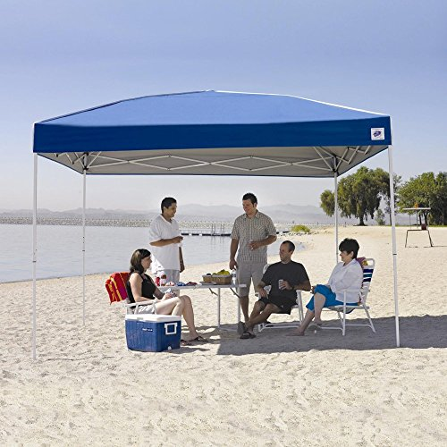 E-Z UP Regency Instant Shelter Canopy, 12 by 12', Blue