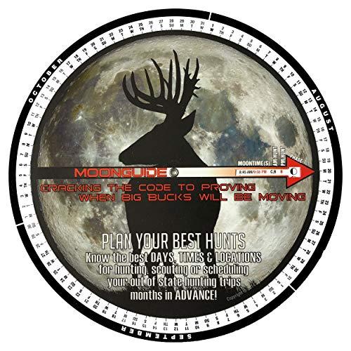 2019 Moon Guide for Deer Hunting (Deer Hunting Calendar Best Time Hunt)