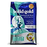 Solid Gold Barking at the Moon Holistic Dry Dog Food, Beef, Eggs & Peas, Grain & Gluten Free, Active Dogs of All Life Stages, All Sizes, 24lb Bag