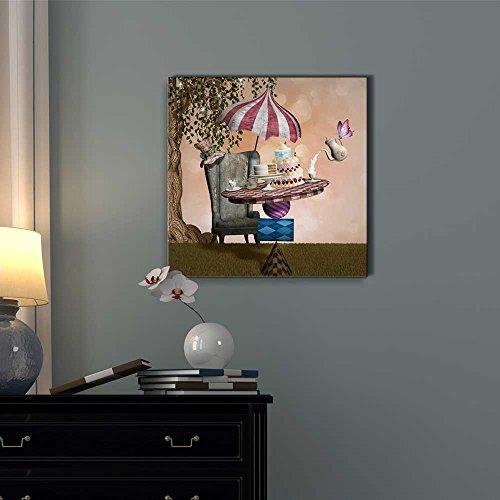 Wonderland Series Mad Hatter Banquet Wall Decor ation